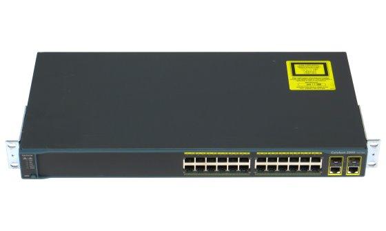 Cisco Catalyst 2960 24x Port Switch WS-C2960-24TC-L ohne Betriebssystem