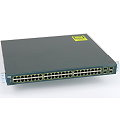 "Cisco Catalyst 3560G PoE Gigabit Switch WS-C3560G-48PS-S V5 im 19"" Rack"