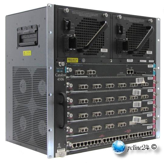 Cisco Catalyst 4506 A Ware/Grade A Switch 19 Zoll 48,26 cm Rack