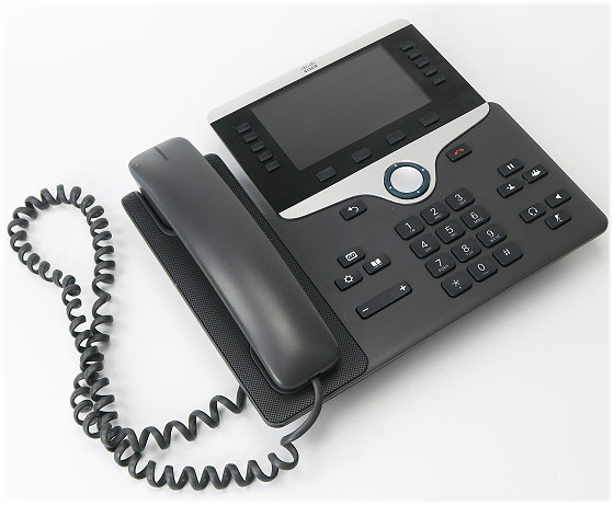 Cisco IP-Phone CP-8841 VoIP IP-Telefon ohne Netzteil/Standfuß