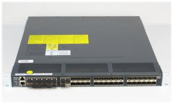 "Cisco MDS 9148 Multilayer Fabric Switch mit 16x FC 8G Shortwave SFP+ im 19"" Rack"