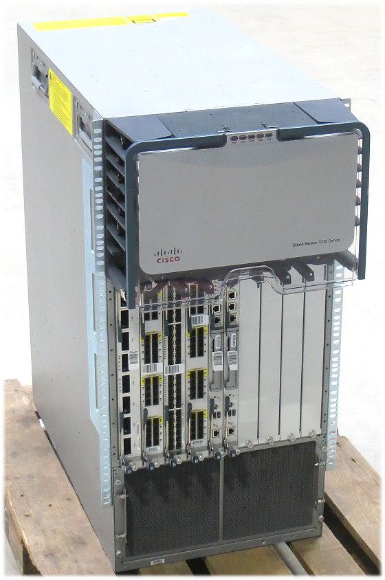 Cisco Nexus N7K-C7010 Data Center Switch 7000-Series 64x Ports 10Gbps bis zu 17Tbps