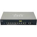 Cisco SG300-10PP Managed Switch 10x Gigabit PoE+ (2x SFP) ohne Netzteil