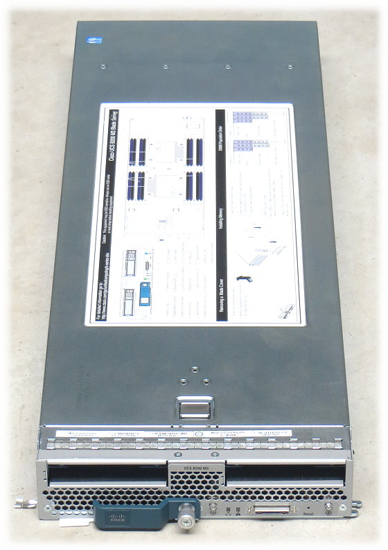Cisco UCS B200 M3 V04 Blade Server Barebone Motherboard + 2x CPU-Kühler Heatsink FCLGA2011
