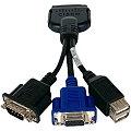 Cisco UCS KVM Adapter 37-1016-01 VGA D-Sub 9pin seriell 2x USB