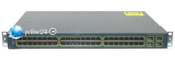 Cisco Catalyst 3560 PoE-48 WS-C3560-48PS-S 48xPort RJ-45 10/100 4x SFP