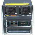 Cisco WS-C4507R-E Switch Chassis mit 2x PSU 1400W im 19 Zoll Rack Catalyst 4507R-E