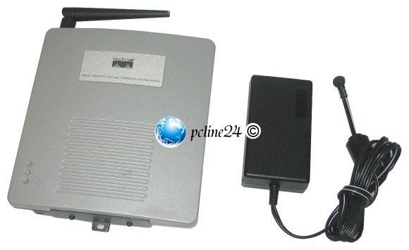 Cisco Aironet 1200 AIR-AP1231G-E-K9 Wireless Access Point 54Mbps + Netzteil