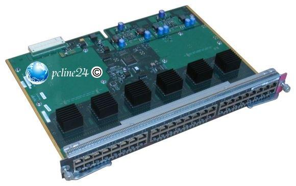 Cisco WS-X4548-GB-RJ45 48 port Gigabit Catalyst 4000 4500
