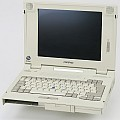 "10,4"" Compaq LTE 5300 Pentium 133MHz 32MB (o. NT/HDD/ODD, Akku def.) norw. Retro"