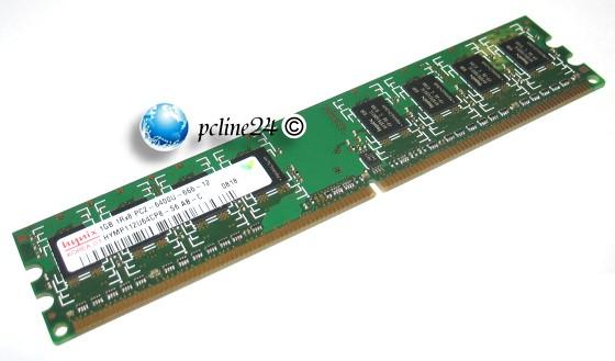 Markenspeicher 1GB DDR2 PC2-6400U 800MHz 1Rx8