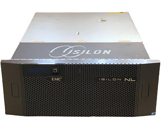 DELL/EMC Isilon NL410 Disk Storage Xeon E5-2407 v2 @ 2,4GHz 24GB RAM 2x PSU 24x Slots