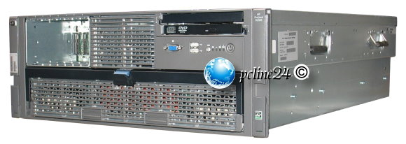 HP ProLiant DL585 G5 2x Opteron Quad Core 8386 @ 2,8GHz 16GB P400 SAS 512MB DVD