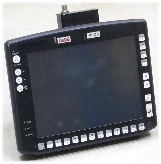 DLog TFT Staplerterminal DNet MPC5 Touch Industrie PC Auto PKW B- Ware