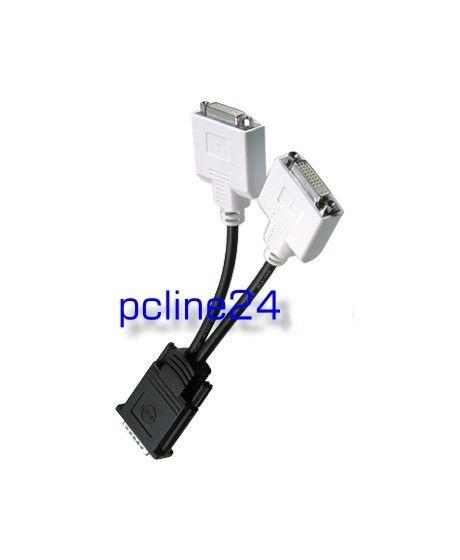Diverse DMS-59 to 2x DVI Y-Kabel Adapterkabel