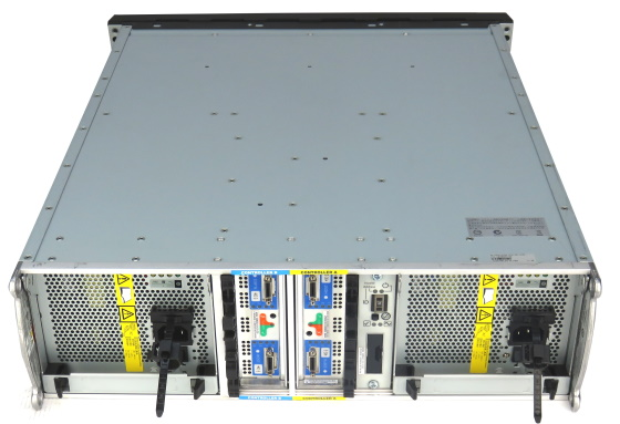 Data Domain ES20 Storage 530-0213-0001 SAS/SATA 2x I/O-Modul P/N: 89363-05 o.HDD