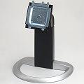 Dell 1907FPVt Monitor-Standfuß Monitorständer Pivot silber-schwarz für 1907FP