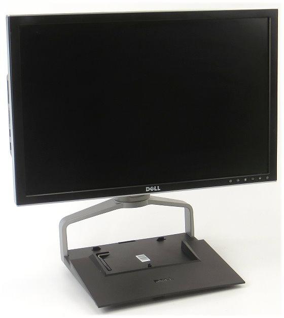 """24"""" TFT LCD Dell 2407WFP 1920 x 1200 FullHD Kartenleser USB E-Dock Standfuß 0GG217"""