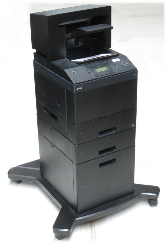 Dell 5350dn 48 ppm 128MB Duplex LAN Laserdrucker 2.PF 550+2000 Blatt 205.680 Seiten