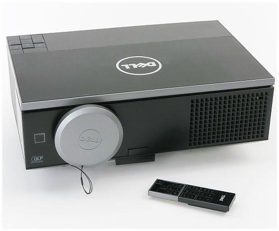 Dell 7700 Full HD Beamer DLP 5000ANSI/Lu mit FB (Lampe muss getauscht) B-Ware