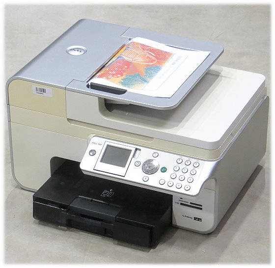Dell 968 All-in-One FAX Kopierer Scanner ADF USB Tintenstrahldrucker ohne Tinten