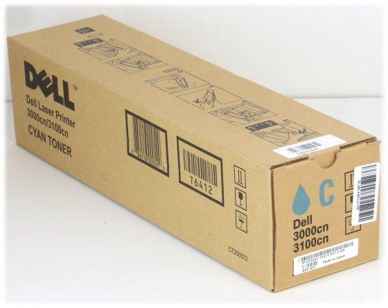 Dell CT200572 T6412 Toner original cyan NEU für Laser Printer 3000cn/3100cn