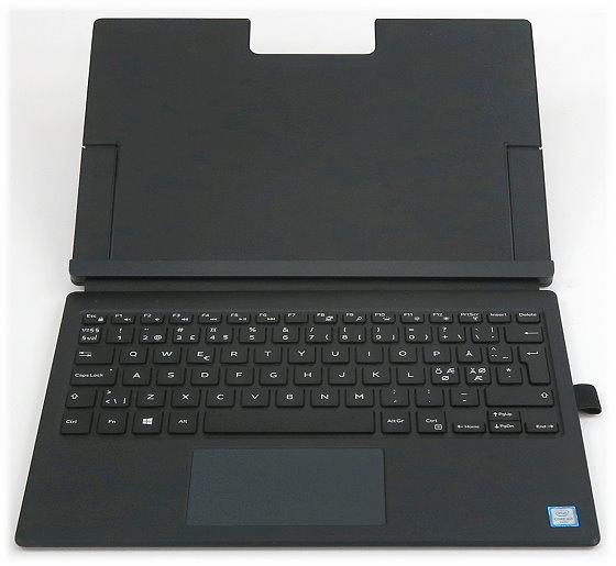 Dell K14M Tablet Tastatur für Latitude 12 7275 XPS 9250 Keyboard Cover dänisch