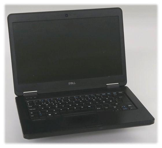 Dell Latitude E5440 defekt für Bastler (Teile fehlen, ohne NT) norw.