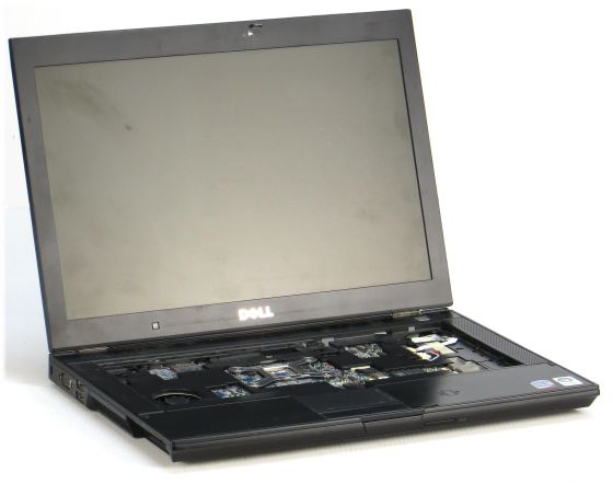 Dell Latitude E6400 Notebook defekt für Bastler Palmrest Spare Parts