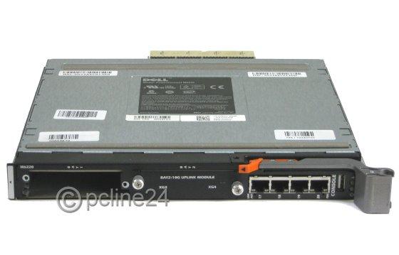 Dell M6220 PowerConnect-Switch Einschub Plug-In Modul für PowerEdge M1000e