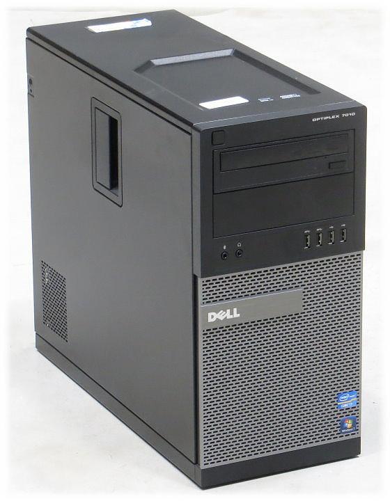 Dell Optiplex 7010 Pentium Dual Core G1610 @ 2,6GHz 4GB 250GB DVD Tower PC