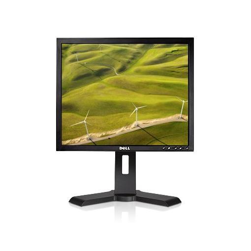 """19"""" TFT LCD Dell P190St 1280x1024 Pivot schwarz 4x USB VGA DVI-D Monitor B-Ware"""