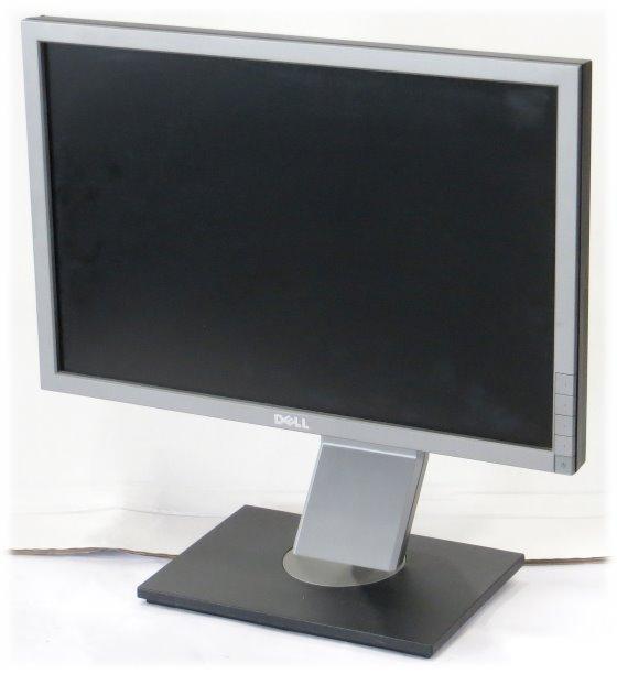 "19"" TFT LCD Dell P1911b 1440 x 900 Pivot D-Sub DVI-D Monitor"