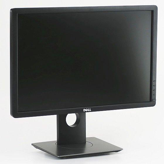 "22"" TFT Dell P2213 Pivot 1680 x 1050 LED-Backlight DVI DP USB schwarz-anthrazit"