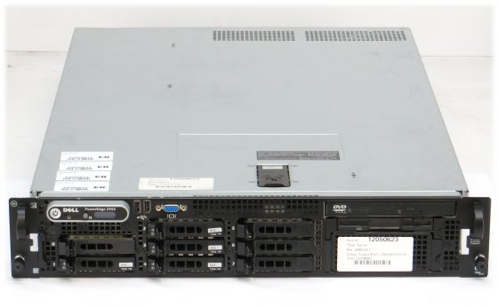 Dell PowerEdge 2950 III Xeon Quad Core X5450 @ 3GHz 8GB 4x 72GB PERC 6/i 2x 750W
