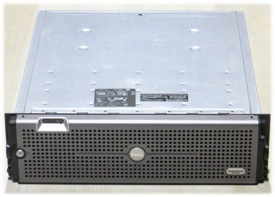 "Dell PowerVault MD1000 Storage im 19"" Rack 2x PSU"