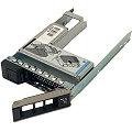 """Dell Poweredge X7K8W Festplatten Tray für Server mit Adapter 09W8C4 WWGPK 2,5"""" HDD auf 3,5"""""""
