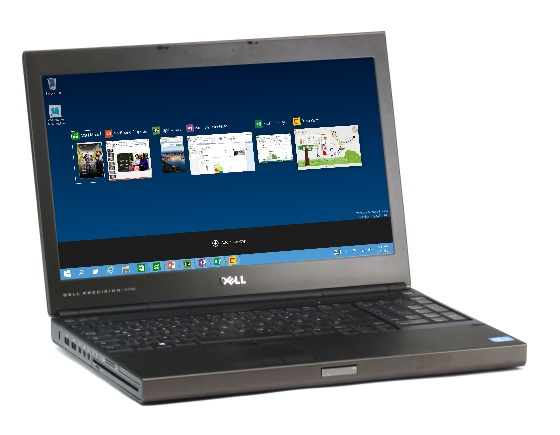 Dell Precision M4700 Quad Core i7 3740QM @ 2,7GHz 8GB 256GB SSD Full HD K2000M Win 10 Pro