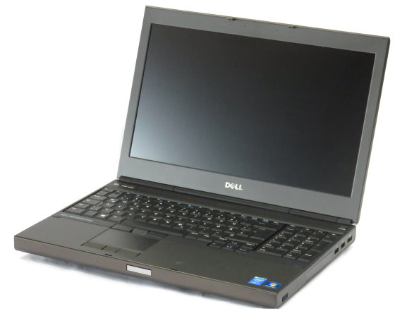 "15,6"" Dell Precision M4800 Core i7 4810MQ @ 2,8GHz 32GB 256GB SSD Full HD K1100M"