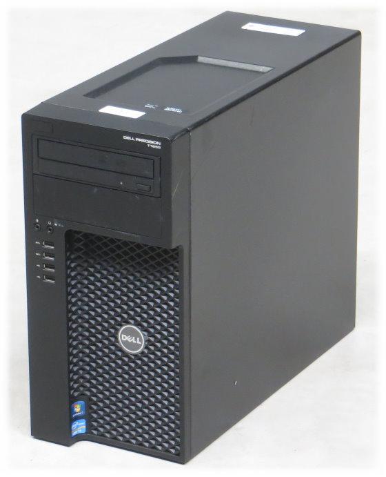 Dell Precision T1650 Xeon Quad Core E3-1240 V2 @ 3,4GHz 8GB 500GB DVD±RW