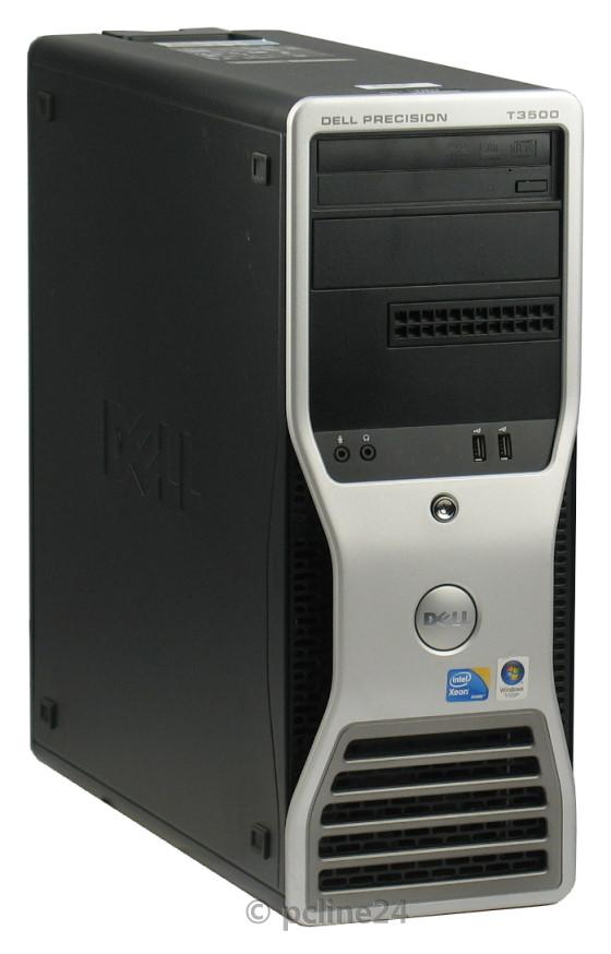 Dell Precision T3500 Xeon Quad Core W3565 @ 3,2GHz 12GB 500GB Quadro 4000 DVD±RW