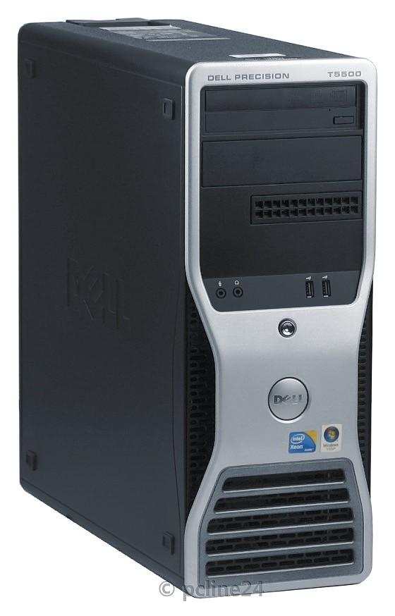 Dell Precision T5500 Xeon Quad Core E5530 2,4GHz 12GB 300GB DVD±RW FX1800 B-Ware