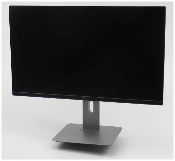 """27"""" TFT LCD Dell U2715H IPS 2560 x 1440 Pivot HDMI DisplayPort B-Ware"""