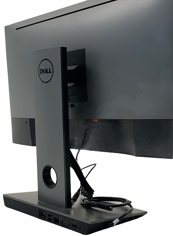 """27"""" LED Dell Ultrasharp U2717D WQHD 2560x1440 2xDP 2xHDMI USB Fuß DS1000 B-Ware"""