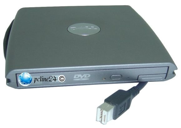 Dell DVD RW Brenner in PD01S D/Bay extern für D420 D430