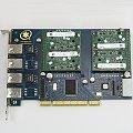 Digium Wildcard TDM410 PCI-Karte 4x RJ11 Asterisk mit 4x S110M FXS Module