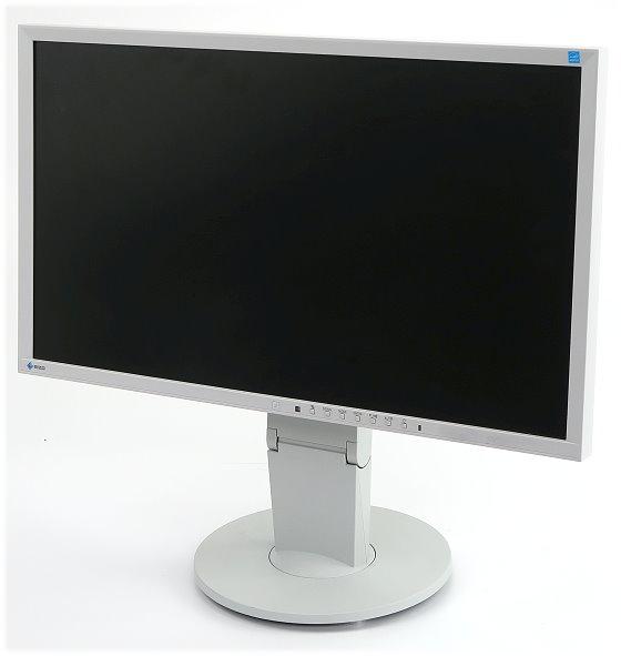 """23"""" TFT LCD EIZO EV2316W 1920 x 1080 Pivot FullHD hellgrau D-Sub DVI DisplayPort"""