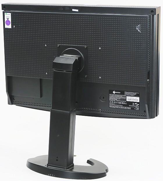 """24"""" TFT LCD EIZO FlexScan EV2411W Full HD LED HDCP Pivot VGA DVI-D Sonderfuß"""