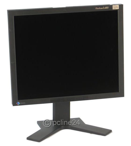 "18"" TFT LCD EIZO FlexScan L685 S-IPS Pivot USB-Hub 2x DVI-I 1280 x 1024 Monitor"