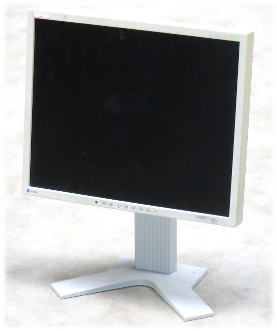"19"" TFT LCD EIZO FlexScan S1911 S1911SH-GY Pivot 1280 x 1024 Monitor vergilbt"